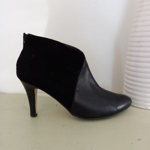 Diana Ferrari Ankle Boots Size 7.5 Leather